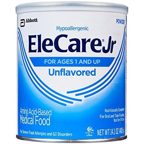 EleCare Jr Toddler Formula-Unflavored-Powder-14.1 Ounces-6 Pack