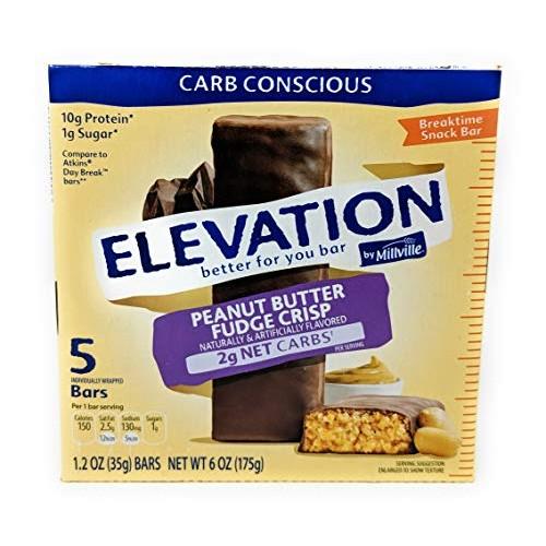 Elevation by Millville Peanut Butter Fudge Crisp Breaktime Bars ...