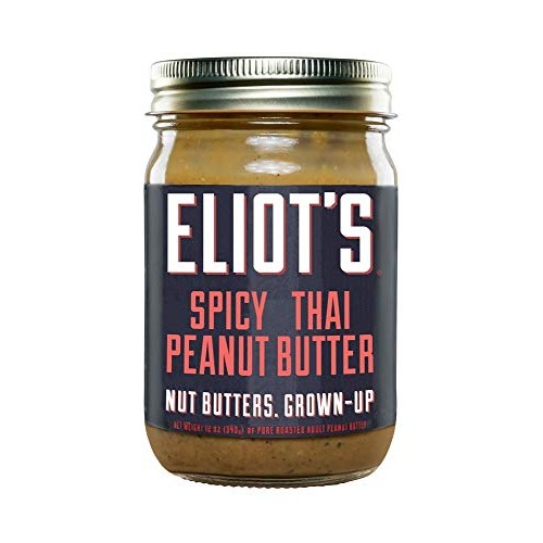 Eliots Adult Nut Butters Spicy Thai Peanut Butter, Non-GMO, Glu...