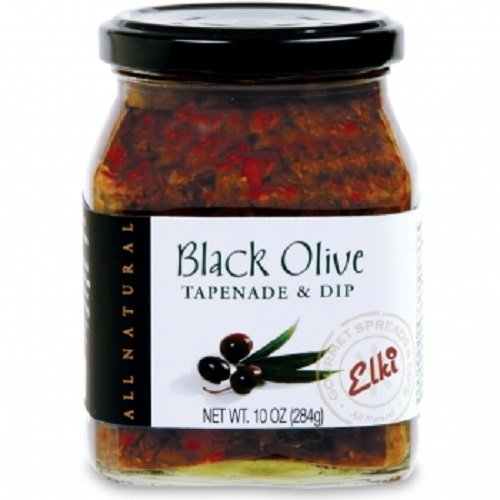 Gourmet Black Olive Tapenade Spread - Perfect for Grilled Meat, ...
