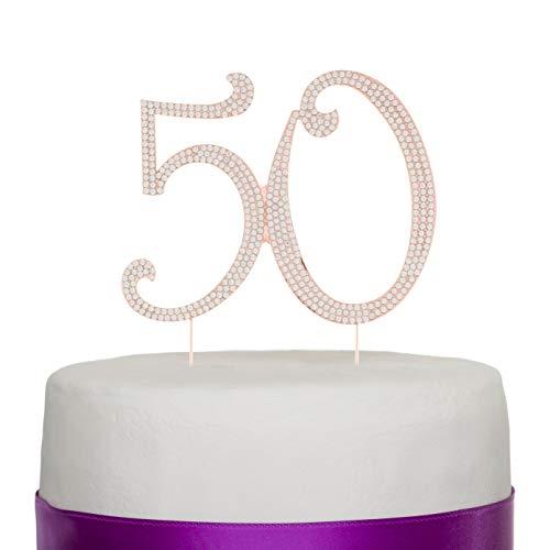 Ella Celebration 50 Cake Topper 50th Birthday or Anniversary Par...
