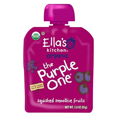 Ellas Kitchen Organic 6+ Months Baby Food, Smoothie Fruit Puree...