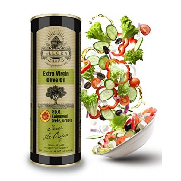 Global award winning Greek extra virgin olive oil, single estate...