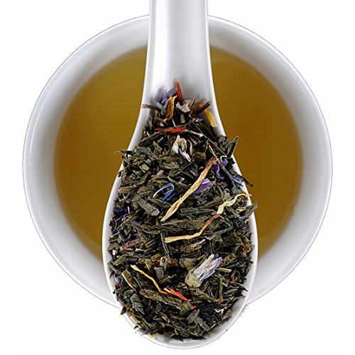 Organic Tropical Green Tea, Mango and Passion Fruit Flavored Pan...