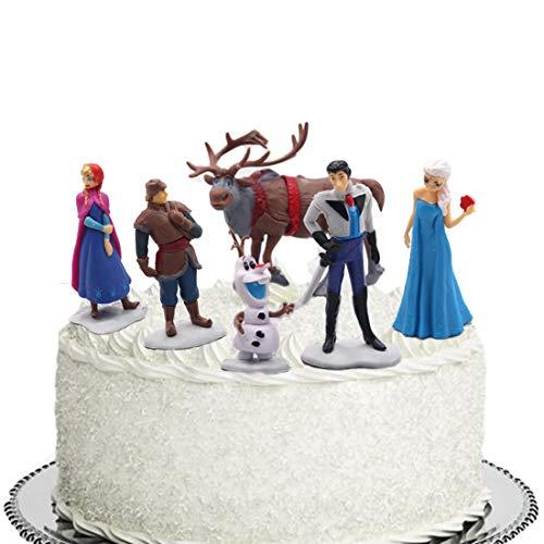 ELSANI Frozen Cake Topper Collectible Model Elsa Snow Princess 6...
