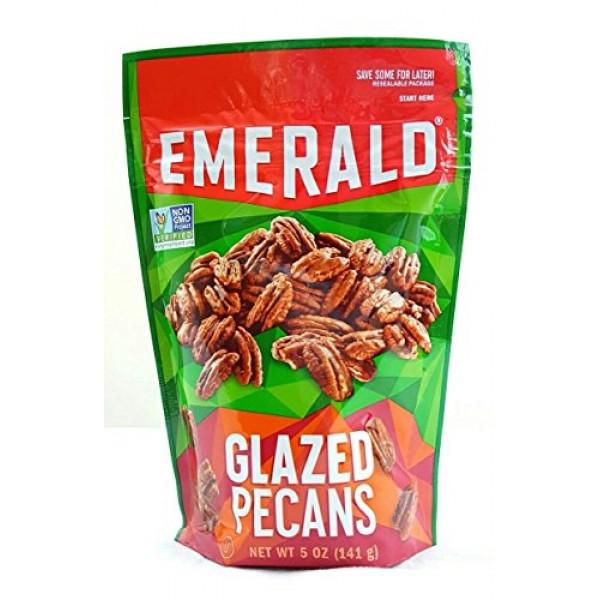 Emerald Glazed Pecans Non GMO Verified Pack of 2