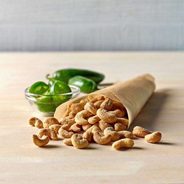 Emerald Jalapeño Cashews Stand Up Resealable Bag, 5 Ounce Pack ...