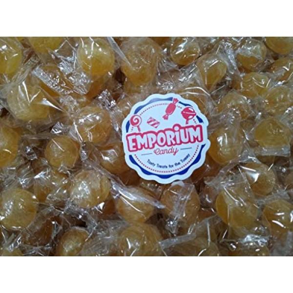 Washburns Ginger Balls - Bulk Individually Wrapped Fresh Hard C...