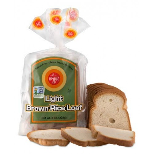 Ener-G Foods Light Brown Rice Loaf, 8-Ounce Packages Pack of 6