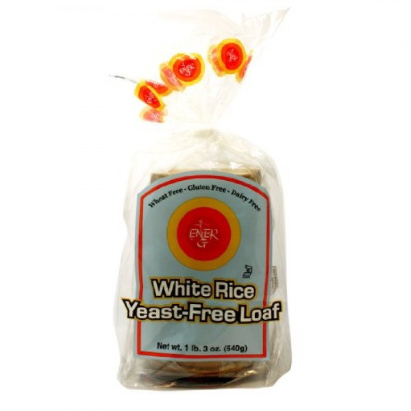 Ener-G Foods Yeast-Free White Rice Loaf, 19-Ounce Units Pack of 6