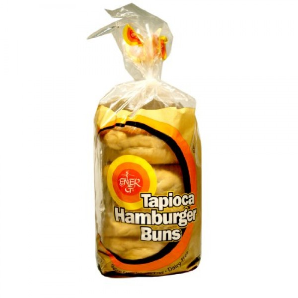 Ener-G Foods Tapioca Hamburger Buns, 7.76-Ounce Units Pack of 6