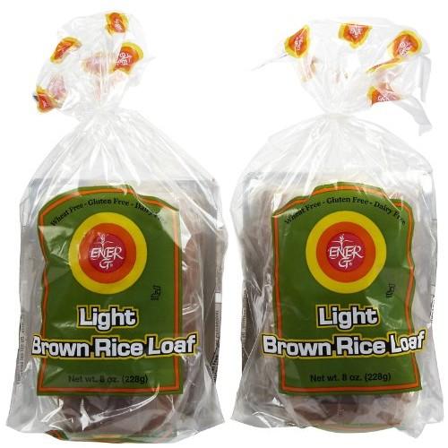 Ener-G Light Brown Rice Loaf, 8 oz, 2 pk