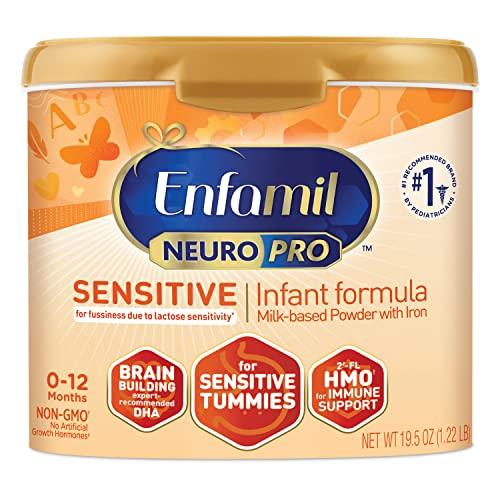 Enfamil Neuropro Sensitive Baby Formula Powder Can, 19.5 Ounce