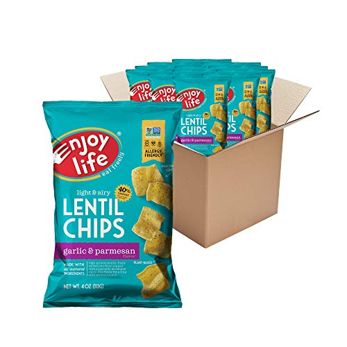 Enjoy Life Lentil Chips, Soy free, Nut free, Gluten free, Dairy ...