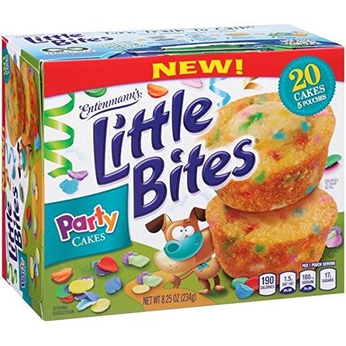 Entenmanns Little Bites Party Cakes (3 boxes)