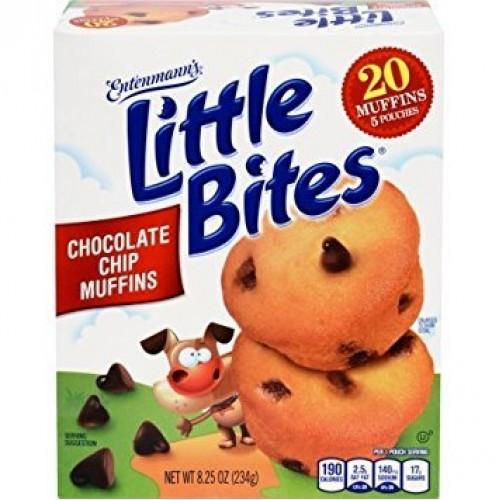 Entenmanns Little Bites 5 ct Chocolate Chip Muffins 8.25 oz Pa...
