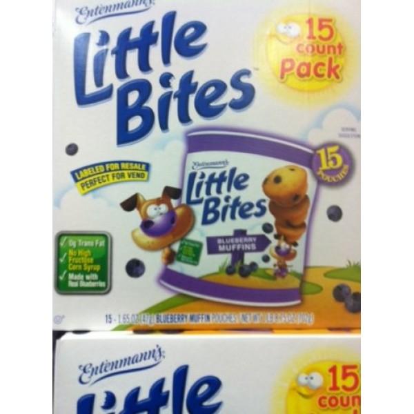 Entenmanns Little Bites 15 Count Blueberry Muffins 1lb 8.75 Oz