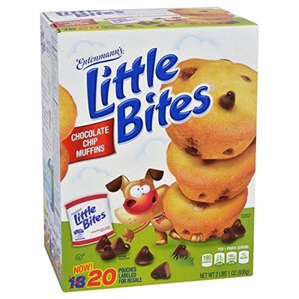 Entenmanns Little Bites Muffins 20 Pouches/80 Muffins Bonus 1 I...
