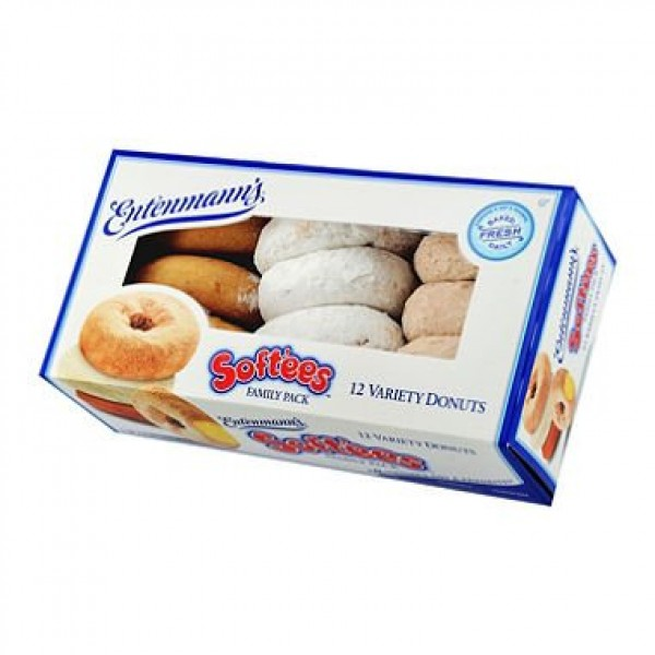 Entenmanns Variety Softees Donuts 12 ct.