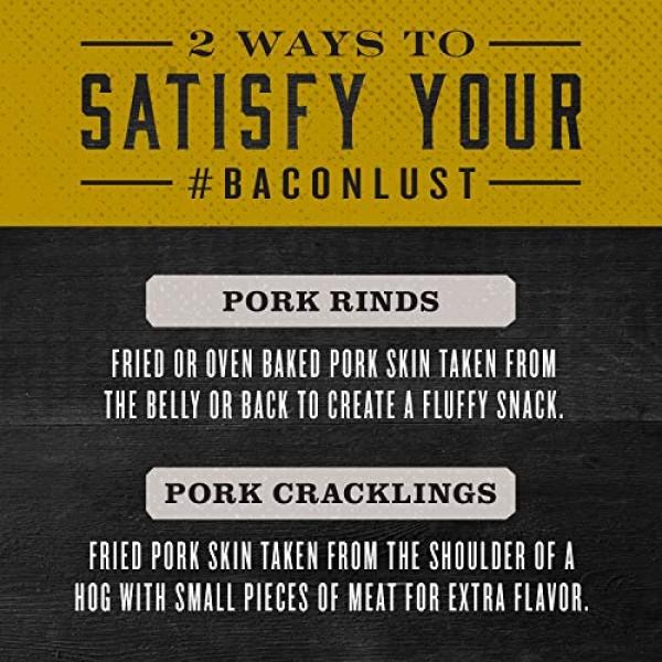 Epic Artisanal Pork Rinds BBQ, Low-Carb, 2.5 oz