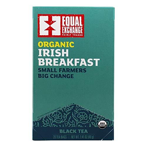 Equal Exchange Organic Teas C=Caffeine C Irish Breakfast Black T...