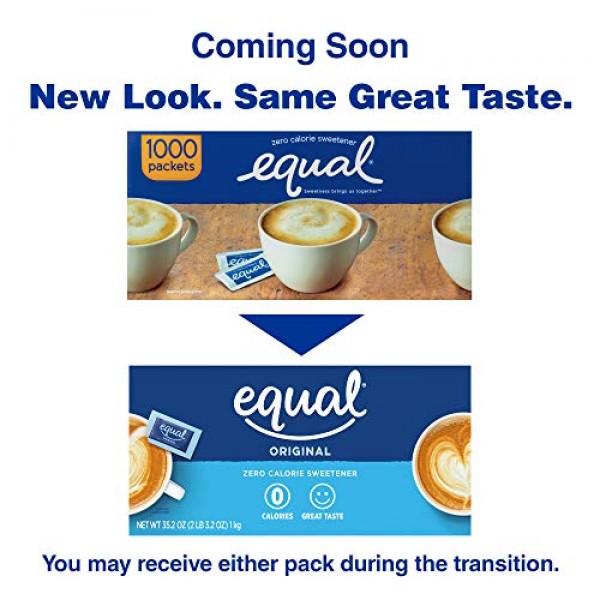EQUAL 0 Calorie Sweetener, Sugar Substitute, Zero Calorie Sugar ...