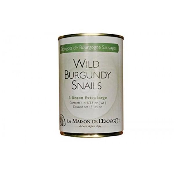 Premium Escargot Wild Burgundy Snails – Rated Number One – Best ...