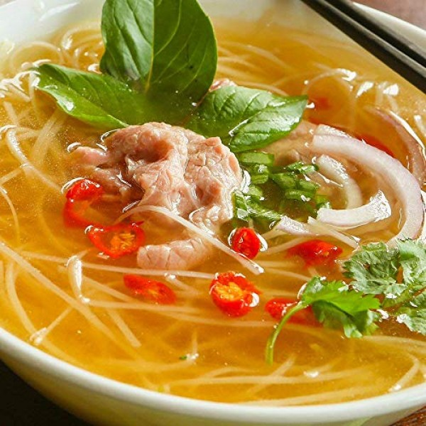 Essence of Lotus Instant Beef Pho Broth for Vietnamese Noodle So...