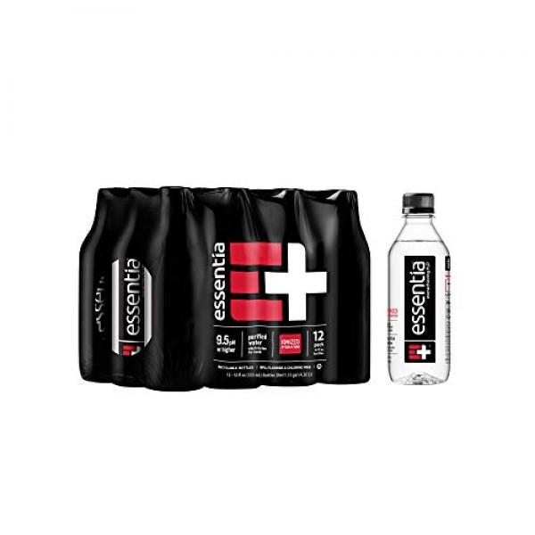 Essentia Water; 12, 12-oz Bottles; 2-pack; Ionized Alkaline Bott...