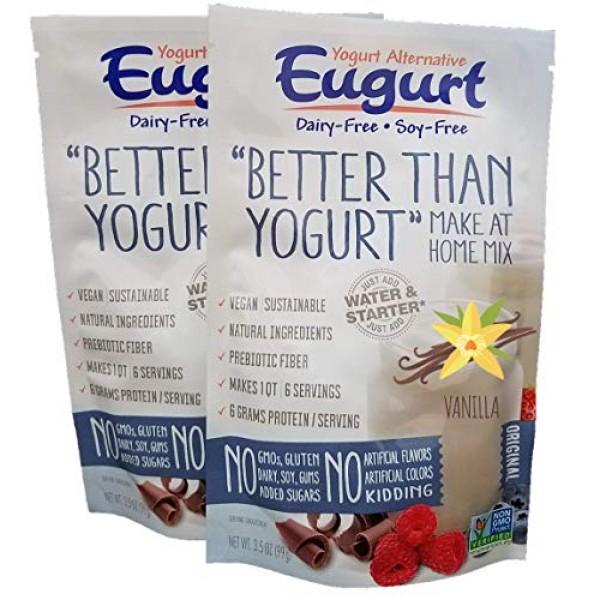 Better Than Yogurt Make At Home Mix Dairy and Soy Free! Van...