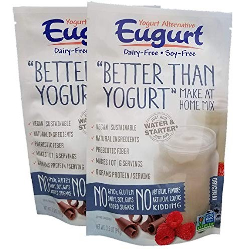 Better Than Yogurt Make At Home Mix Dairy and Soy Free! Pla...