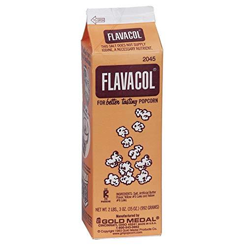 Gold Medal Flavacol Seasoning Salt Packed 2 lbs. 3 oz. cartons,...