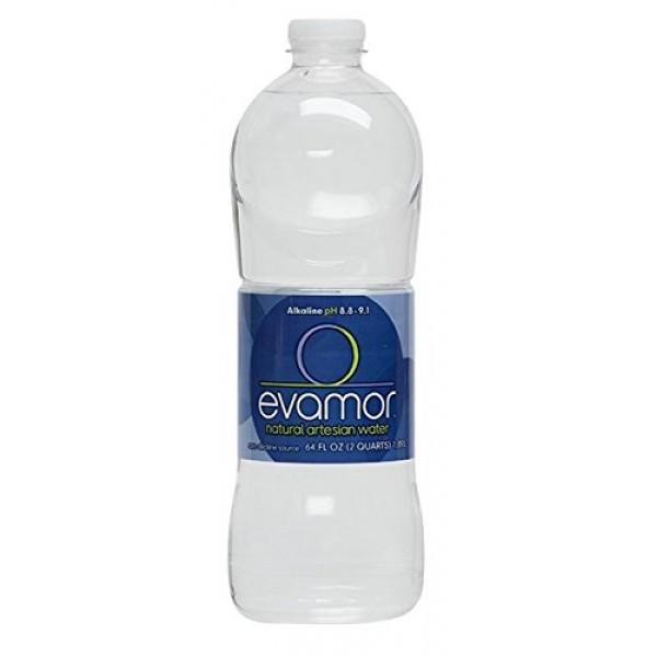 Evamor Natural Alkaline Artesian Water-Alkaline Natural Artesian...