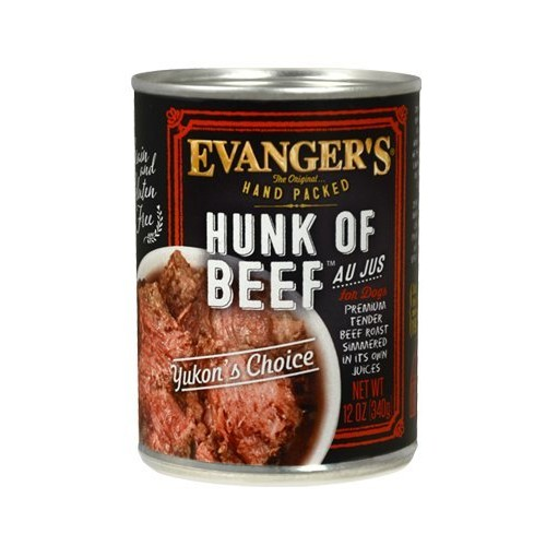 Evangers Hunk of Beef Hand Packed 12 x 12 oz