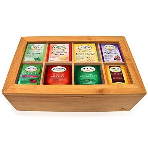 Twinings Tea Bags Sampler Assortment Box - 80 COUNT - Perfect Va...