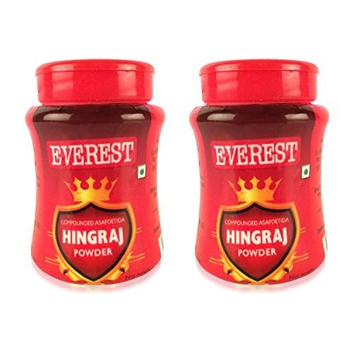 Everest Hingraj Powder - 50 grams Pack of 2 - Hing - Asafoetida