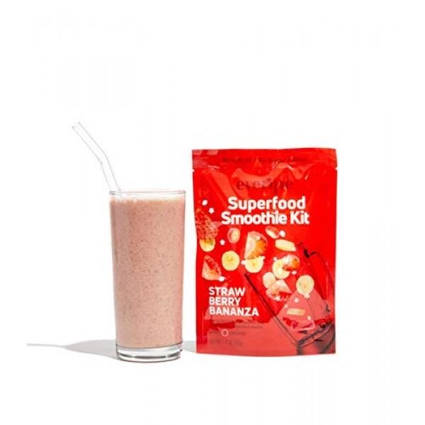 Smoothie Packets for Blender- Everipe Smoothie Kit, Homemade, Ve...