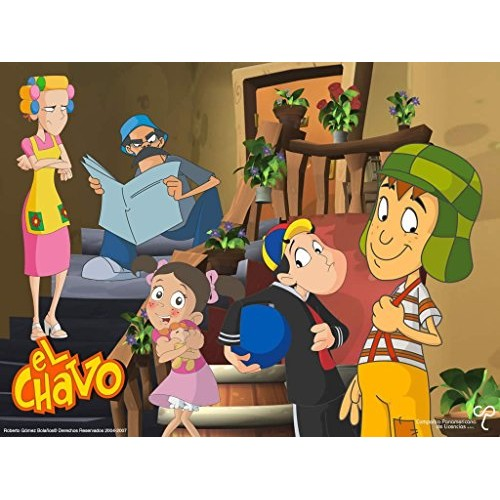 El Chavo Del Ocho 8 Edible Cake Topper Frosting 1/2 Sheet Birthd...