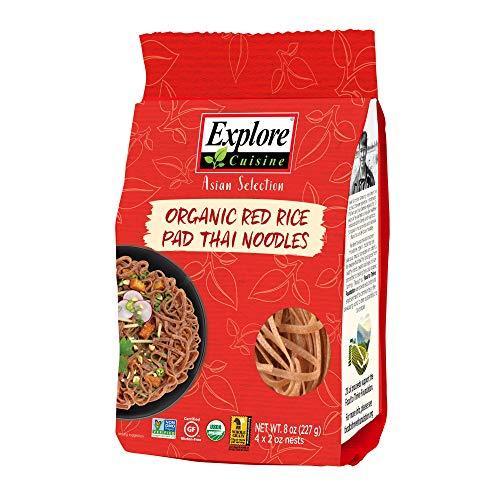 Explore Cuisine Organic Red Rice Pad Thai Noodles - 8 oz - Healt...