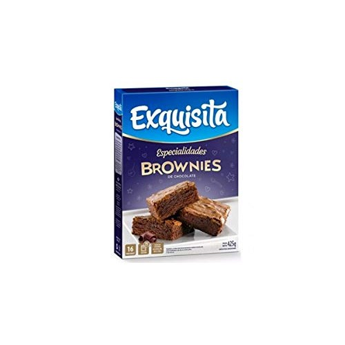 Exquisita Chocolate Brownie Ready to Bake Just Add Eggs, Milk & ...