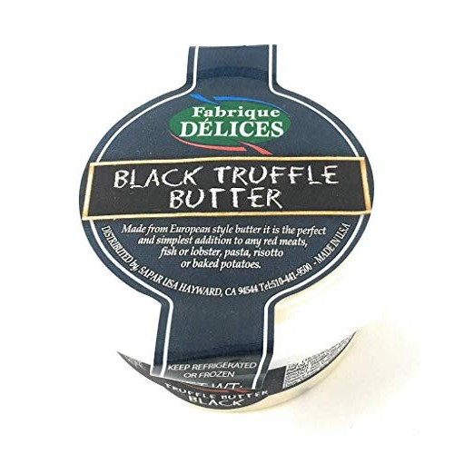 FABRIQUE DELICES Winter Black Truffle Butter, 3 OZ