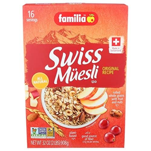 Familia Muesli Swiss Original 3x32 oz.