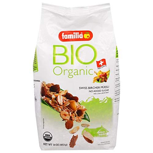 Familia Bio Organic Swiss Bircher Muesli 16 oz 453 g