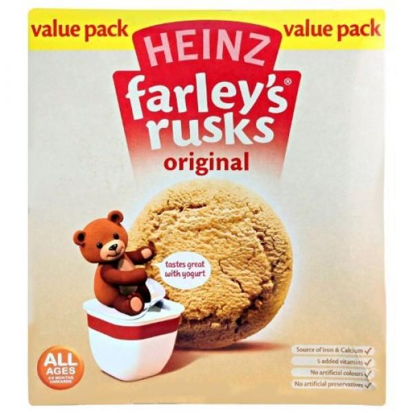Farleys Rusks 4 Month Original 18 Pack 120g