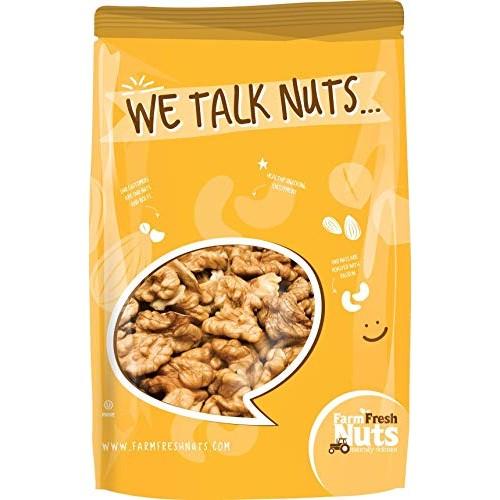 CALIFORNIA WALNUTS Raw - Compares to Organic Walnuts - Shelled H...