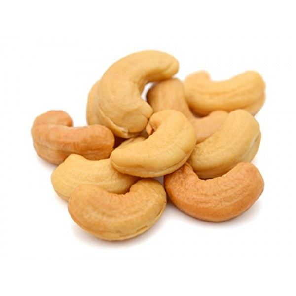 CASHEWS, Dry Roasted to perfection And SEA SALTED - CRUNCHY - RE...