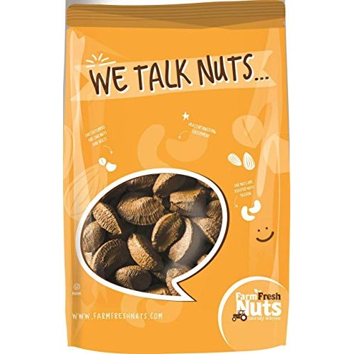 Farm Fresh Nuts IN SHELL BRAZIL NUTS ~ Raw Natural Brazilian Nut...