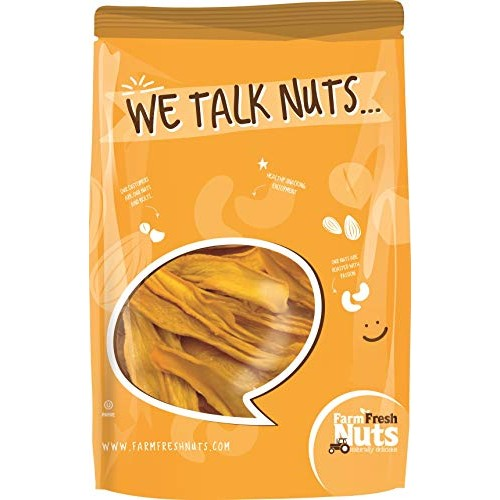 Farm Fresh Nuts Natural Dried Mango ~No Sugar Added~ BRAND NEW P...