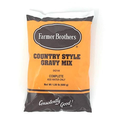 Farmer Brothers Instant Country Gravy Mix, 1.5 lb Bag