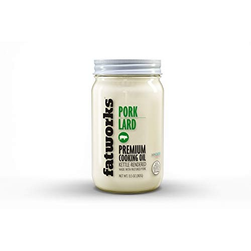 Fatworks USDA Premium Pasture Raised Pork Lard, Sourced Exclusiv...